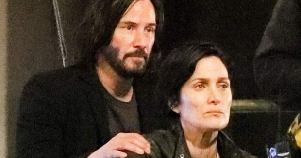 Нео и Тринити снова вместе : новые фото со съемок «Матрицы 4»