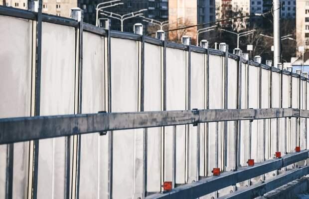 Новые шумозащитные экраны установят в Лианозове