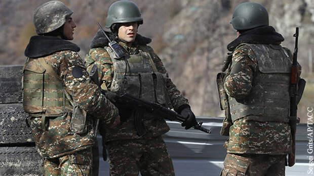 Армения обратилась за помощью в ОДКБ из-за ситуации на границе