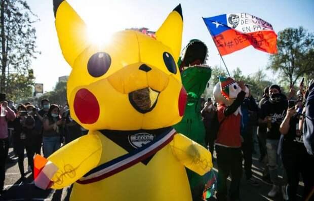 «Тетя Пикачу» побеждает на выборах в Чили по проекту новой конституции
