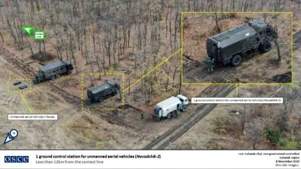 На Донбассе замечен новейший российский комплекс «Наводчик-2»