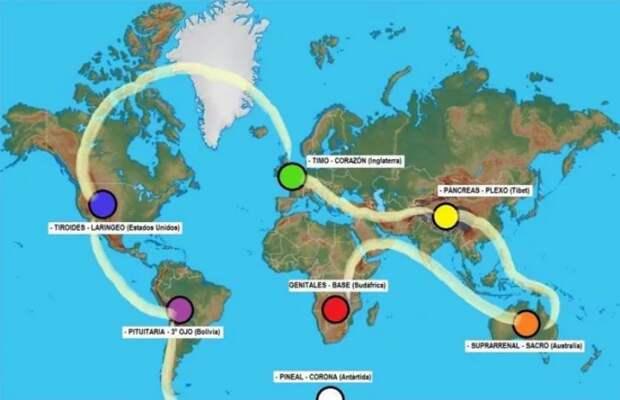 Что такое чакры Земли: расположение 7 сакральных мест