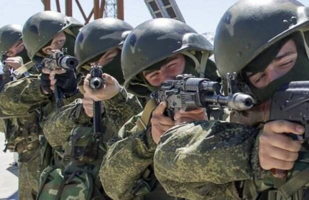 ВКалининграде армейские группы антитеррора отразили условное нападение нагарнизон