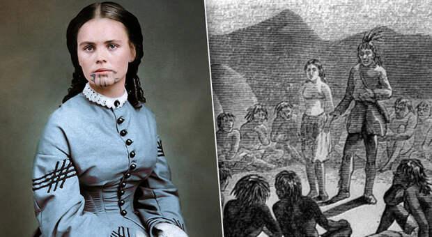 Украдена индейцами: тайна женщины статуировкой налице