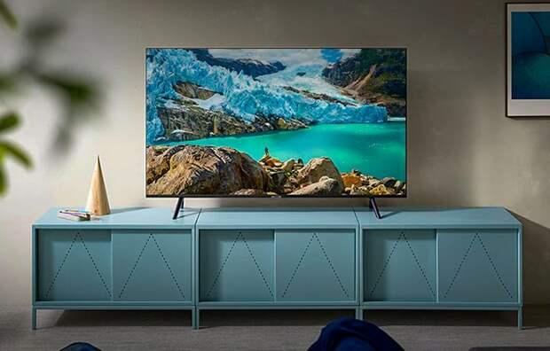 SAMSUNG 50″ 4K HDR10+ со Smart TV, 100Гц и звуком 20 Вт — дешевле 35 тысяч рублей на «Яндекс.Маркет»