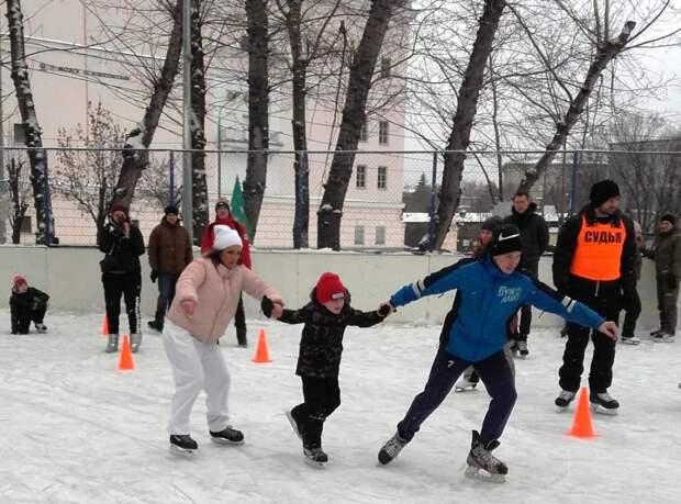 Соревнования «Зимние забавы» / Фото: пресс-служба ЦФКиС ЮВАО
