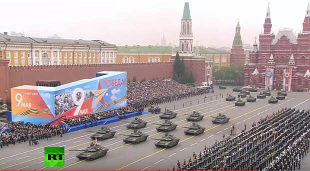74-я годовщина: Парад Победы на Красной площади