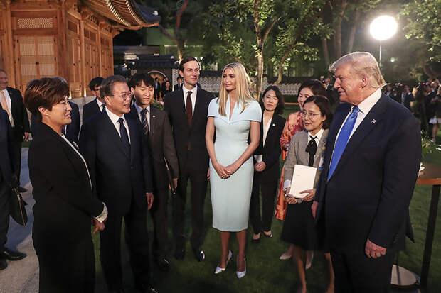 Нежная сакура: Иванка Трамп на саммите G20 (фото 9)