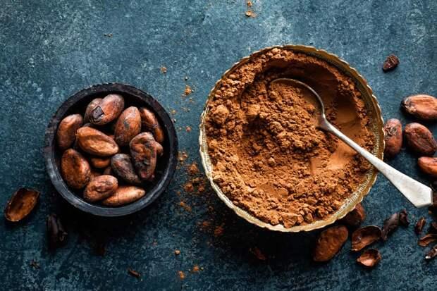 Полезные продукты —какао