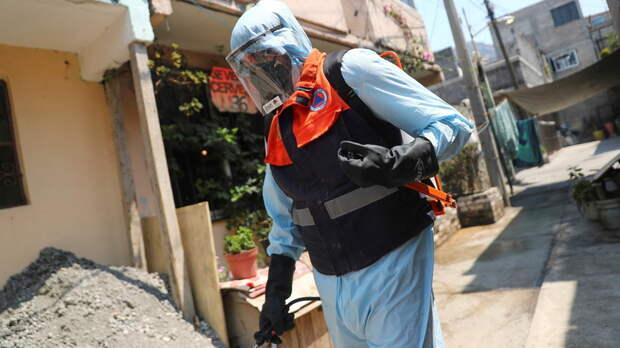 В Мексике число случаев коронавируса достигло 2 543 083