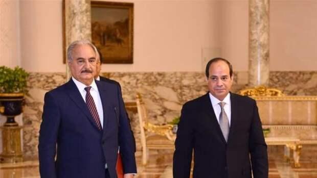 Египет выдвинул план урегулирования вЛивии: Хафтар опять отступает