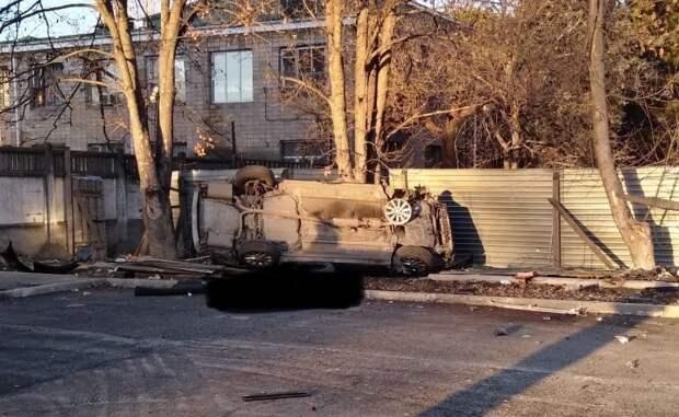 Водитель иномарки насмерть разбился в Симферополе