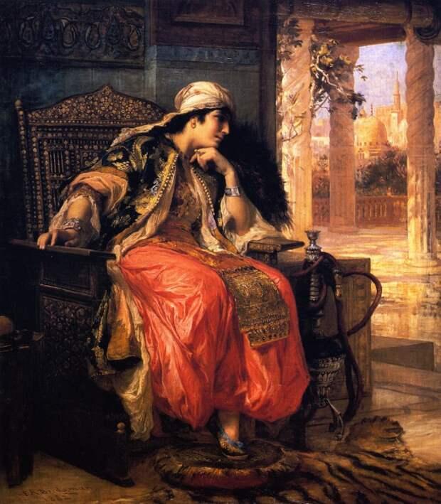 Фредерик Артур Бриджмен (Frederick Arthur Bridgman) (1882).