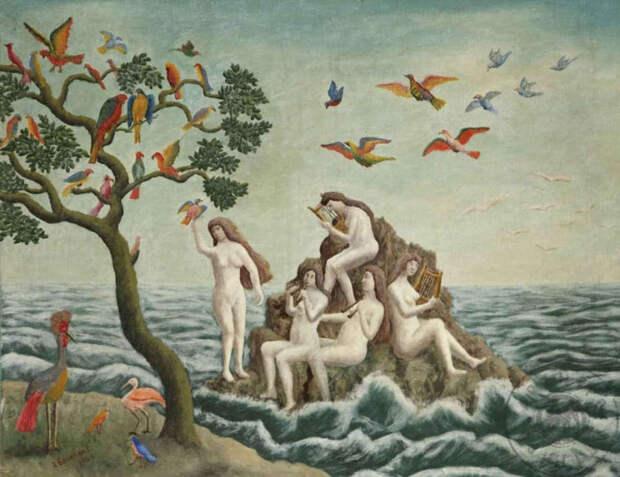 Обнаженная натура в изобразительном искусстве разных стран. Часть 173.