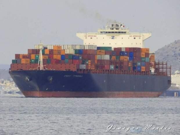 Израильское судно атаковано в Индийском океане