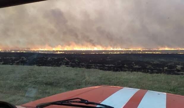 Засутки вТюменской области произошло 18 пожаров