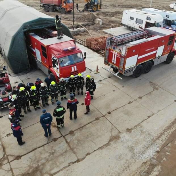 Российские пожарные отметили профессиональный праздник