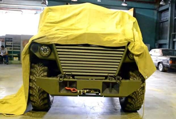 Россия представит бронеавтомобиль «Тигр Next» на форуме «Армия-2019»