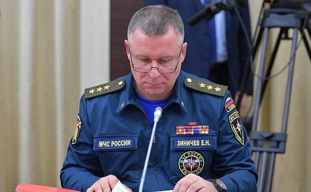 Мужественный, настоящий патриот: политики о главе МЧС Зиничеве