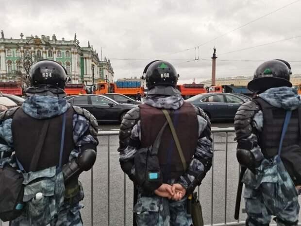 В Петербурге признали провальной незаконную акцию в поддержку Навального