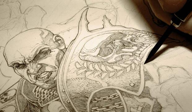 Художник-комиксист Энди Брейс и его мрачные концепт арты и иллюстрации