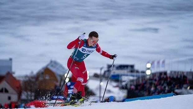 Спицов получил перелом руки на тренировке на ЧМ по лыжным гонкам