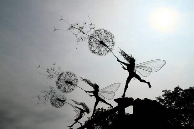 Скульптуры, которые ставят под сомнение законы физики