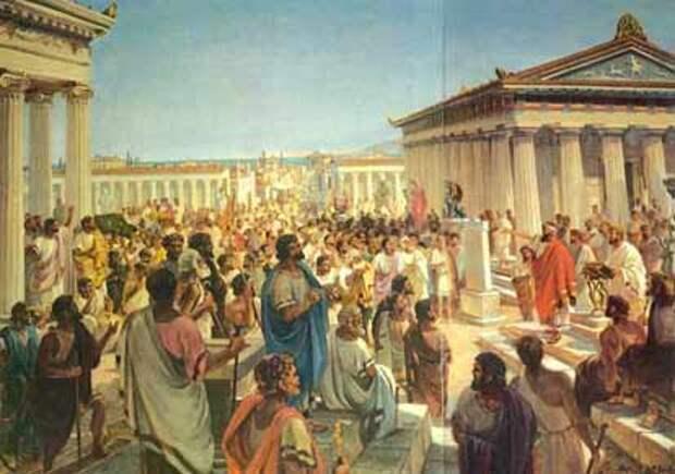 принятия присяги в древнем Херсонесе.