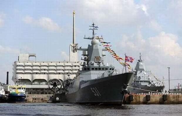 Облик радиолокационного оснащения «Адмирала Горшкова»