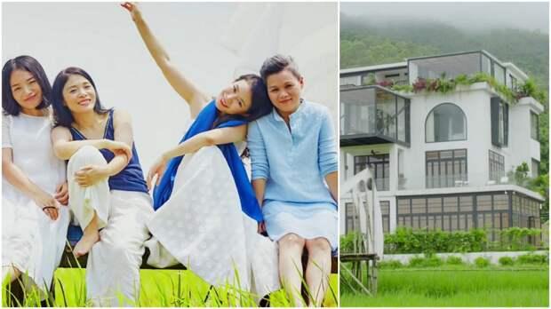 7 подруг из Китая купили в складчину особняк для счастливой совместной старости