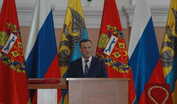 Мэр Оренбурга Владимир Ильиных выступил сотчетом перед депутатами Горсовета