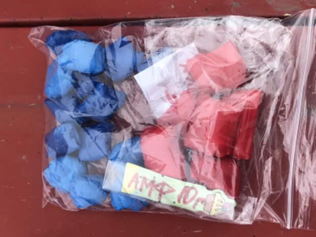 Керченская молодая пара пыталась продать наркотики, спрятанные в новогодние шары
