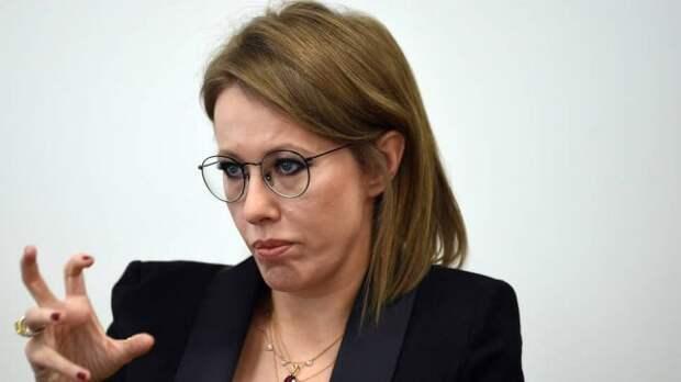 Сбежавшей с места ДТП Собчак грозит лишь «этическое» обвинение