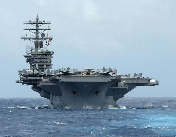 У русских что-то новенькое? Экипажи американских авианосцев уже отказываются плавать в одних водах с россиянами