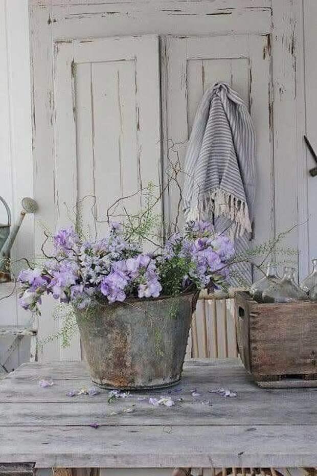 Как создать винтажный уголок в своем саду