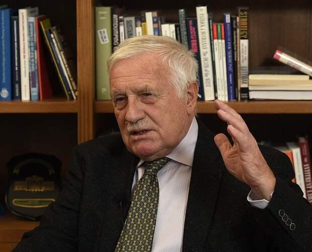 Экс-президент Чехии заявил, что Прага сфабриковала дело о взрывах в Врбетице