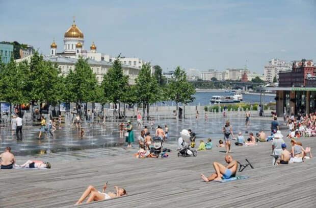 В Москве 23 июня стало самым жарким днем за всю историю метеонаблюдений