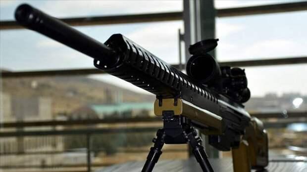 """Турция продемонстрировала снайперскую винтовку DKM """"с высоким экспортным потенциалом"""""""