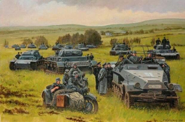 Восточная Пруссия. Немецкие подвижные войска накануне войны