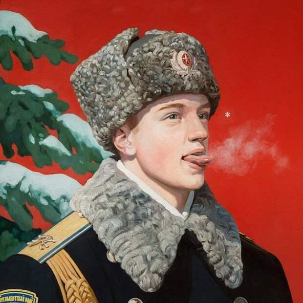 Ностальгический СССР-арт