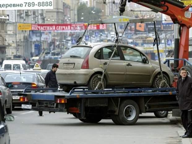 Невостребованные автомобили со штрафстоянок выставят на торги