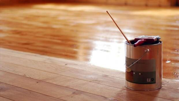 Лак для покрытия деревянного пола