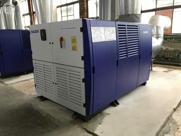 Новые турбокомпрессоры для очистки сточных вод установили на Ижводоканале
