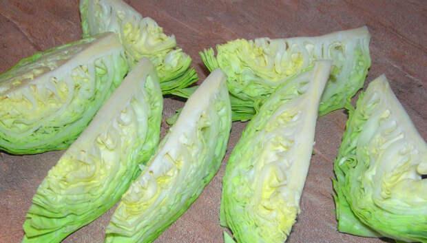 шницели из капусты
