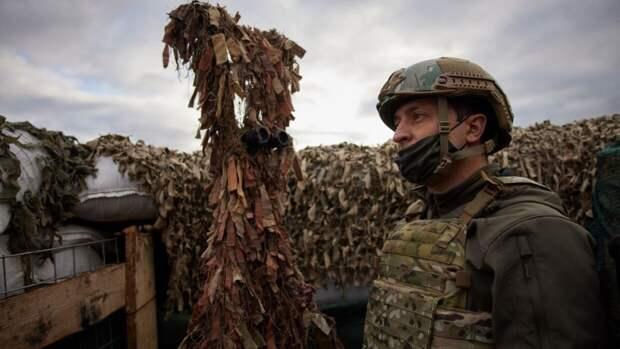 Зеленский подписал закон о призыве в ВСУ резервистов в случае эскалации в Донбассе