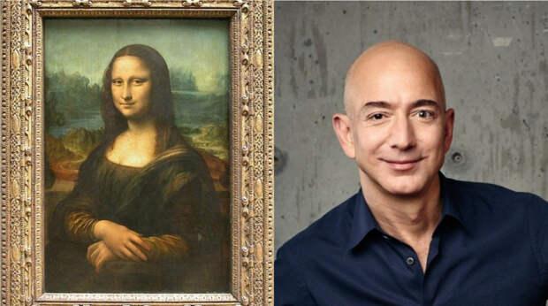 """Джеффу Безосу предлагают купить и съесть картину """"Мона Лиза"""""""