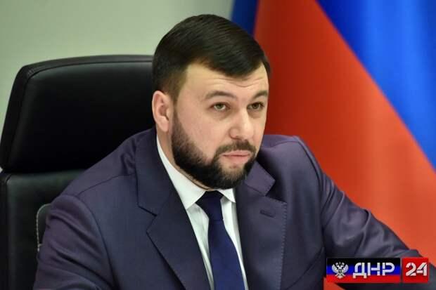 Глава ДНР рассказал зачем админздания обкладывают песков
