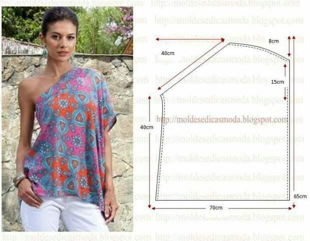 Красивая одежда: интересные и простые варианты 4