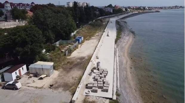 В Евпатории возобновят реконструкцию набережной им. Терешковой