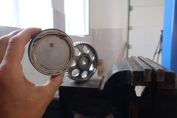 Разбираем поршень современного немецкого двигателя